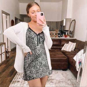 90's satin mini dress